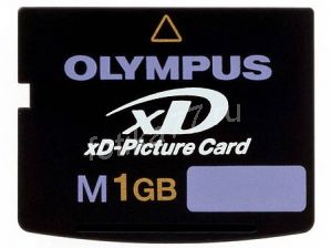 Olympus xD-Picture Card M-XD1GP Карта памяти